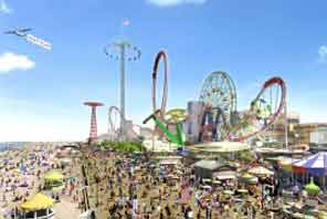 Coney Island in New York City