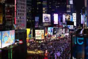 Views of Times Square Crossroads, NY!
