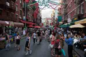 Views of Mulberry Street in Little Italy, NY!
